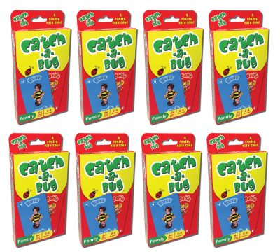 Catch a Bug Card Game 8 pack
