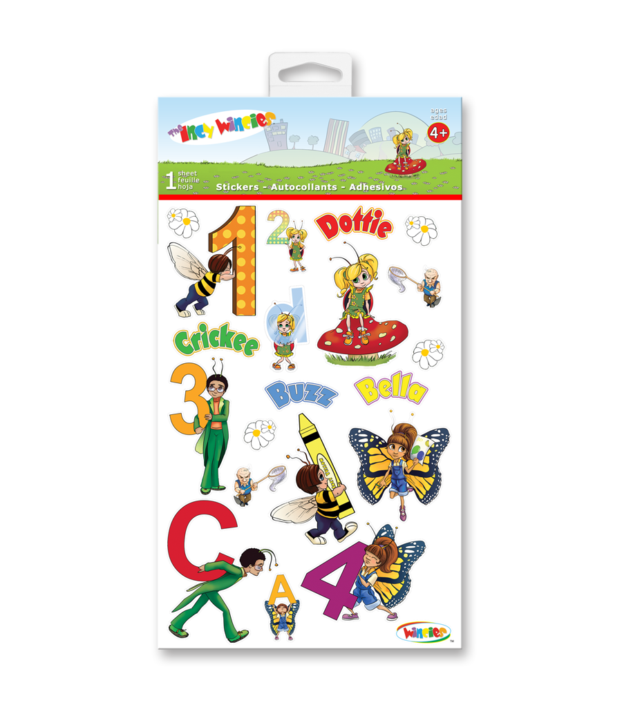 Kids Adhesive Stickers