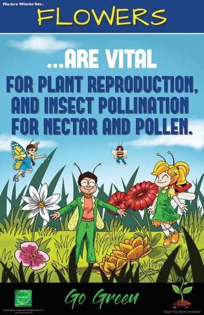 Flowers Environmental Poster