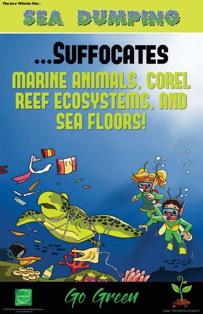 Sea Dumping Environmental Poster