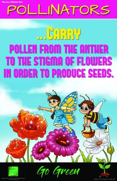Pollinators Environmental Posters