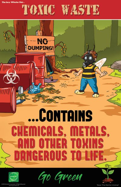 Toxic Waste Environmental Poster