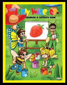 Children's Coloring Activity Book