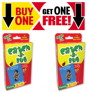 Catch a Bug Card Game Buy One Get One