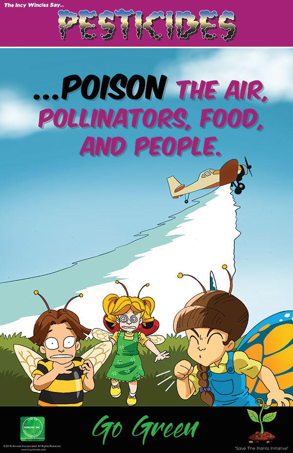 Kids Environmental Poster Pesticides