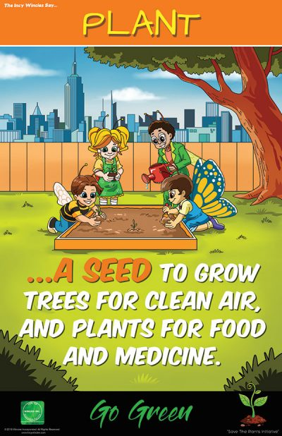 Kids Environmental Posters Plant