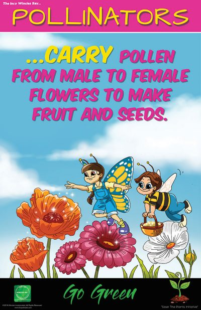 Kids Environmental Posters Pollinators
