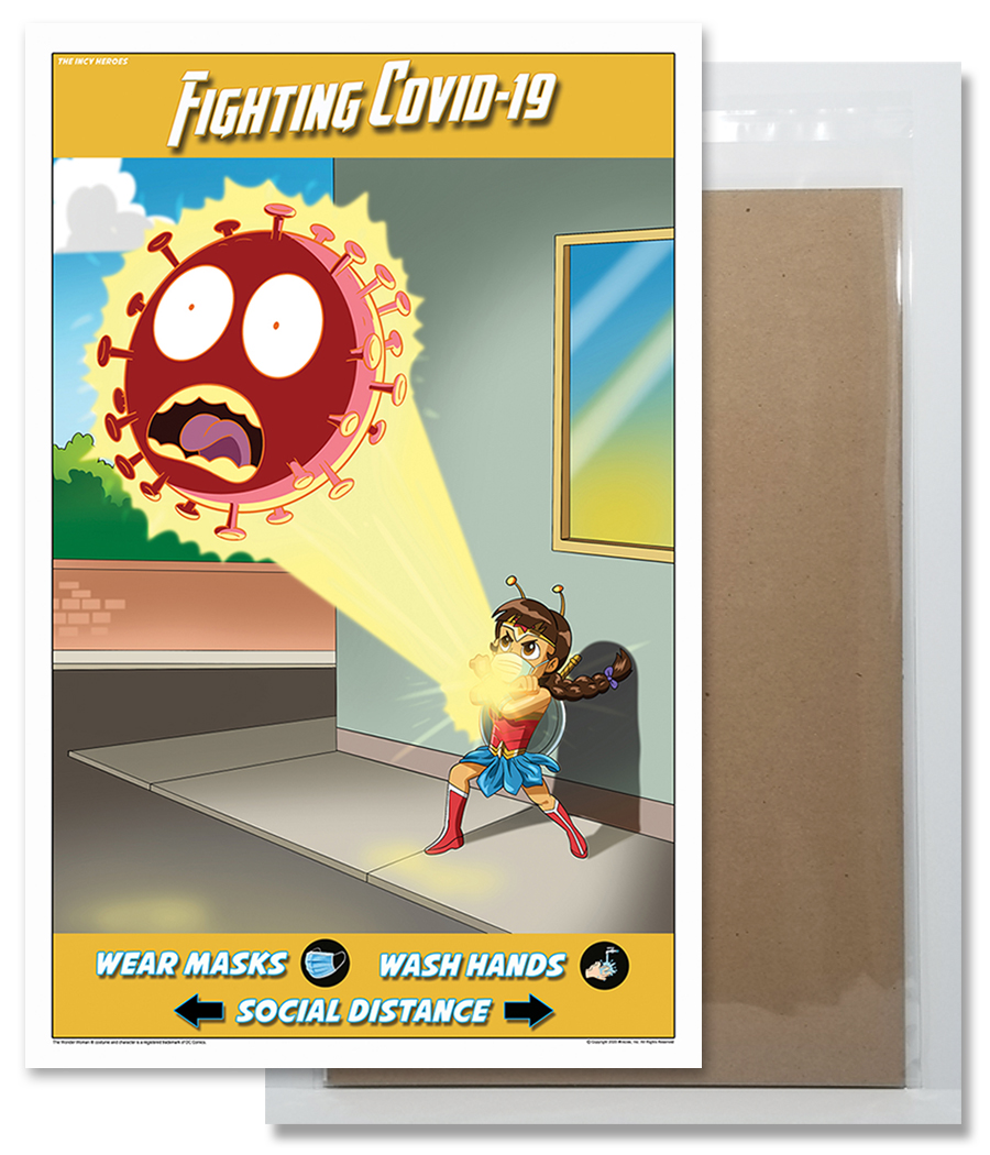 Fighting COVID-19 Poster 1