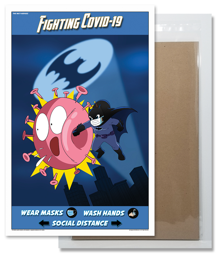 Fighting COVID-19 Poster 2