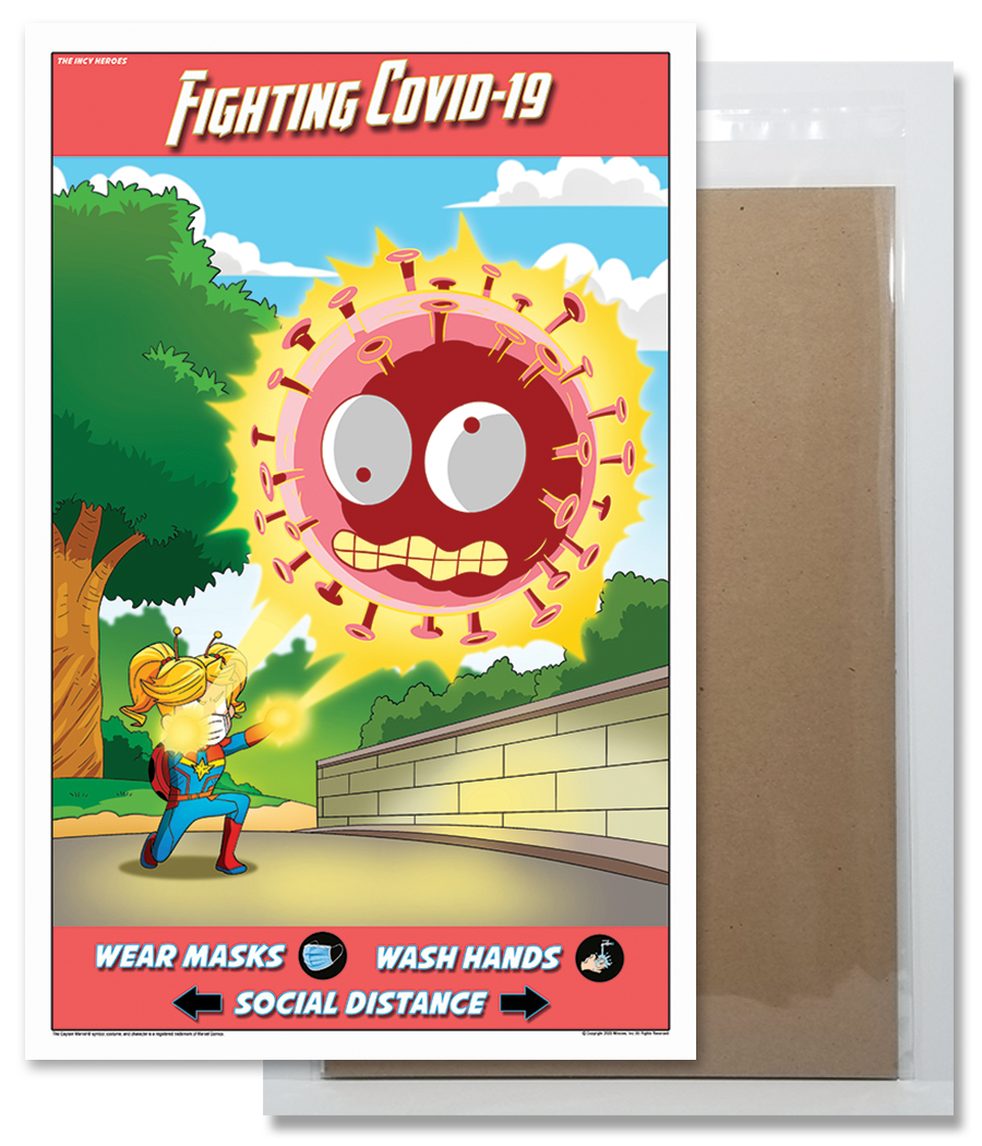 Fighting COVID-19 Poster 3