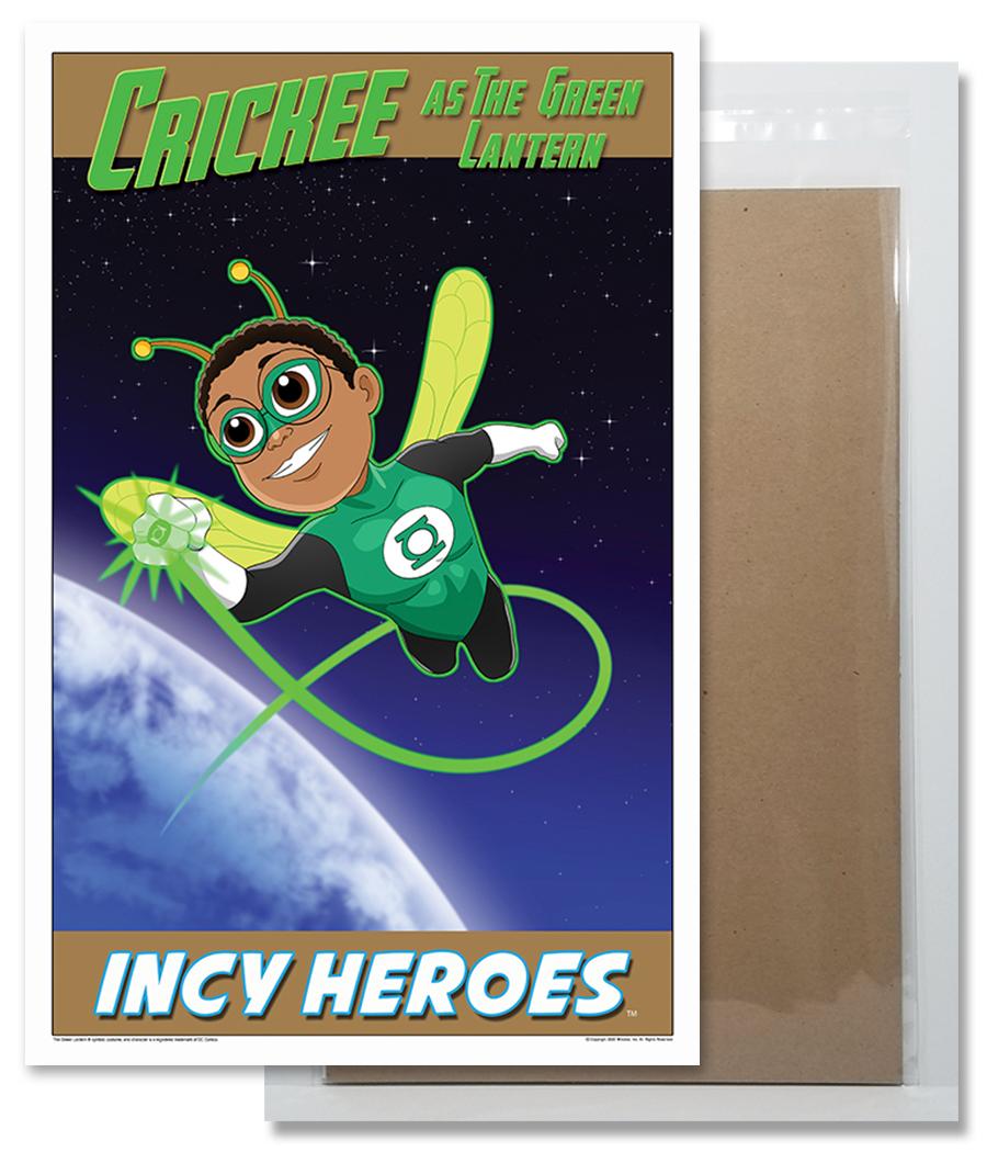 Crickee The Cricket as Green Lantern