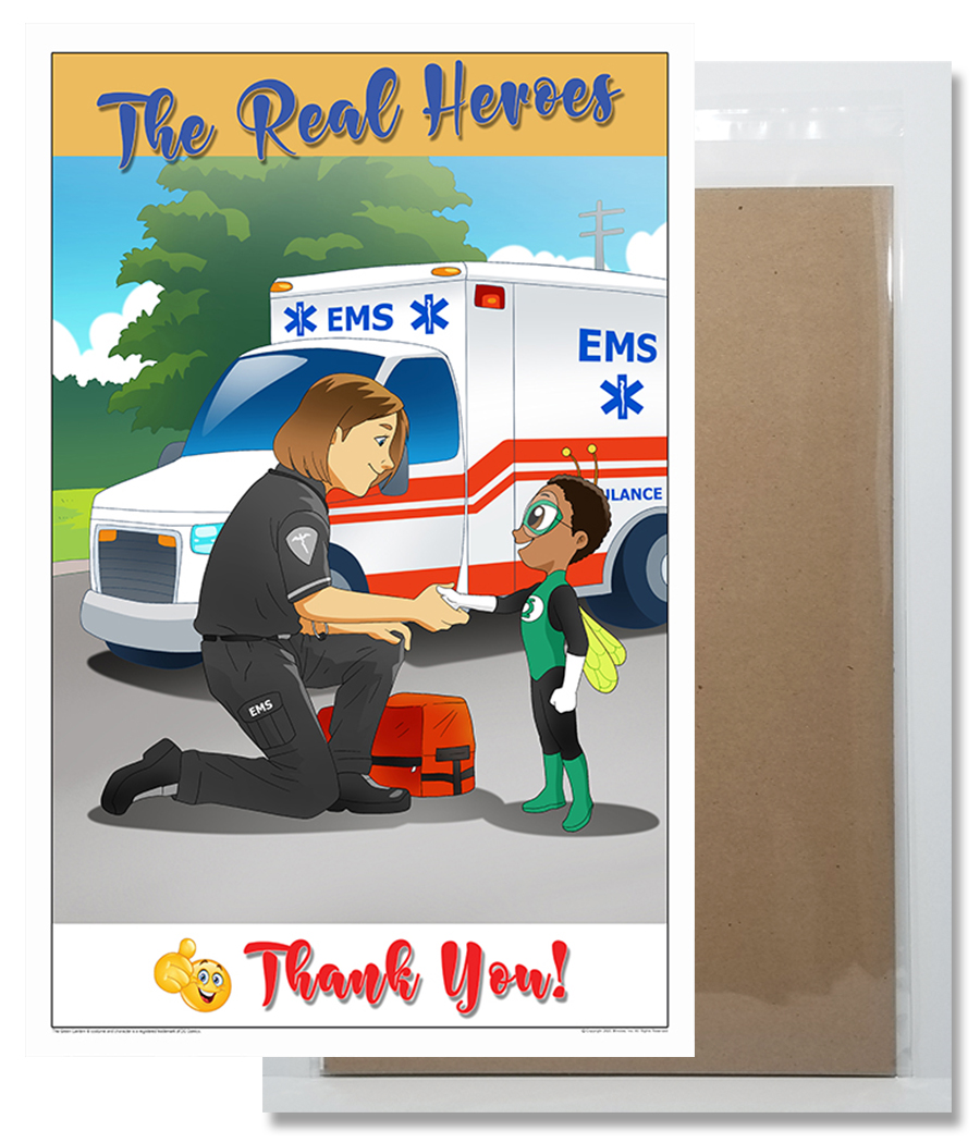 Thank You EMS Poster