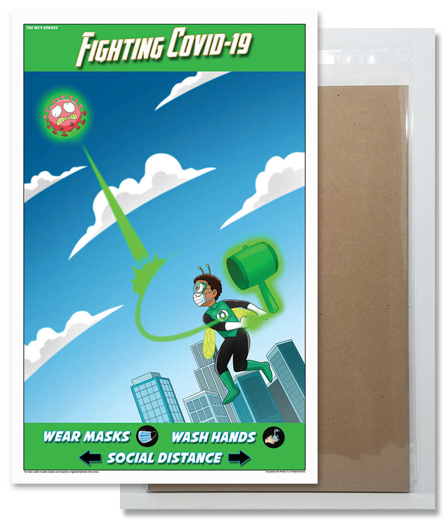 Fighting COVID-19 Poster 4