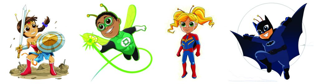 children's superhero posters